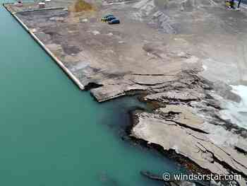 No radiation found in soil at Detroit River site of collapsed shoreline