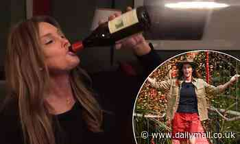 I'm A Celebrity's Caitlyn Jenner downs a bottle of wine amid lonely jungle exit