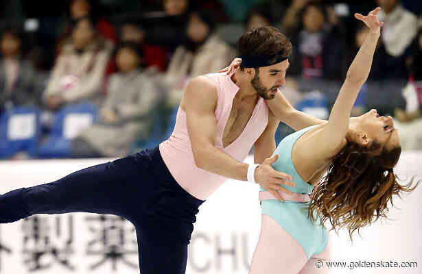 Papadakis and Cizeron lead after Rhythm Dance in Torino