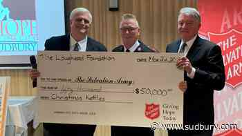 Salvation Army receives generous holiday donation