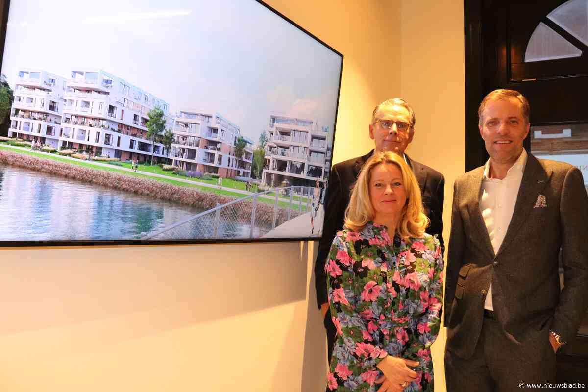 Nieuwbouwproject Watersnip met 108 appartementen aan de Demer