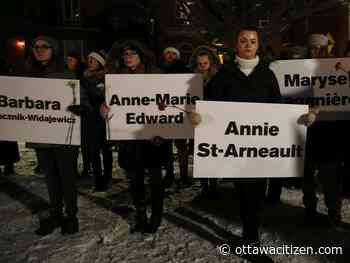 Hundreds join vigils for action on violence against women