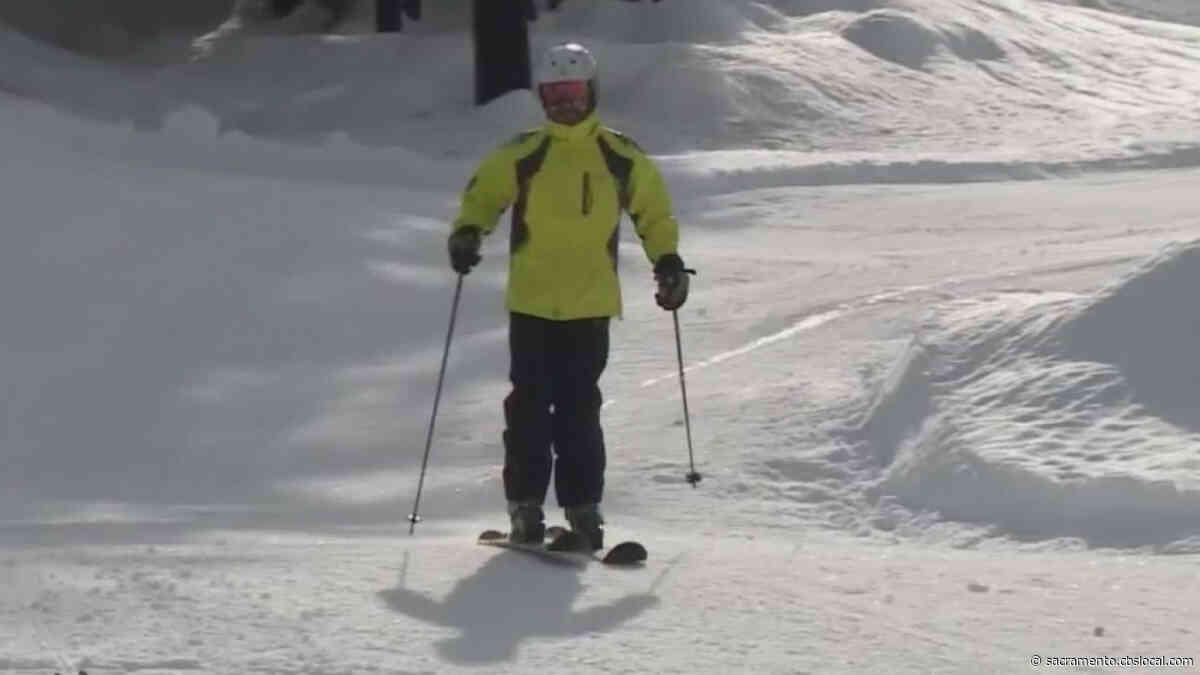 Recent Snow Storms Allow Dodge Ridge Ski Resort To Open In Tuolumne County