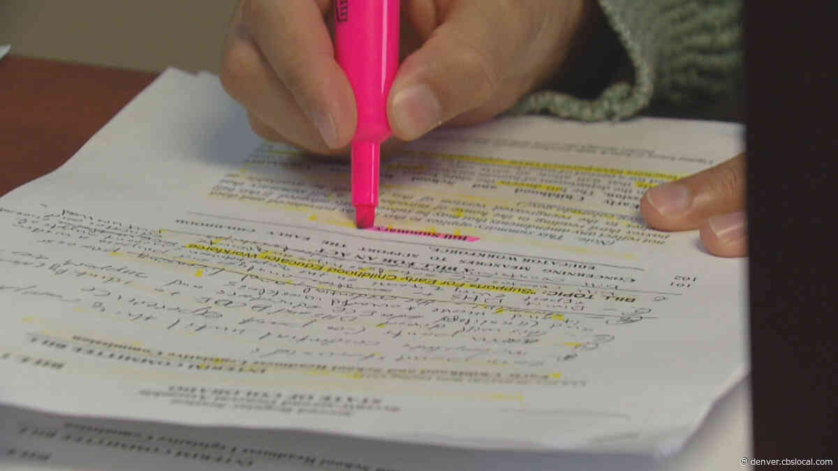 Colorado Lawmakers Hope To Improve Access To Adult Education