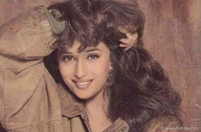 Bollywood diva Madhuri Dixit looks stunning in her latest throwback picture
