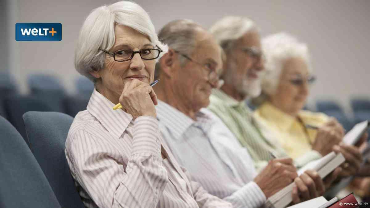 Mit 60 in den Hörsaal – So gelingt Ihr Studium nach dem Beruf
