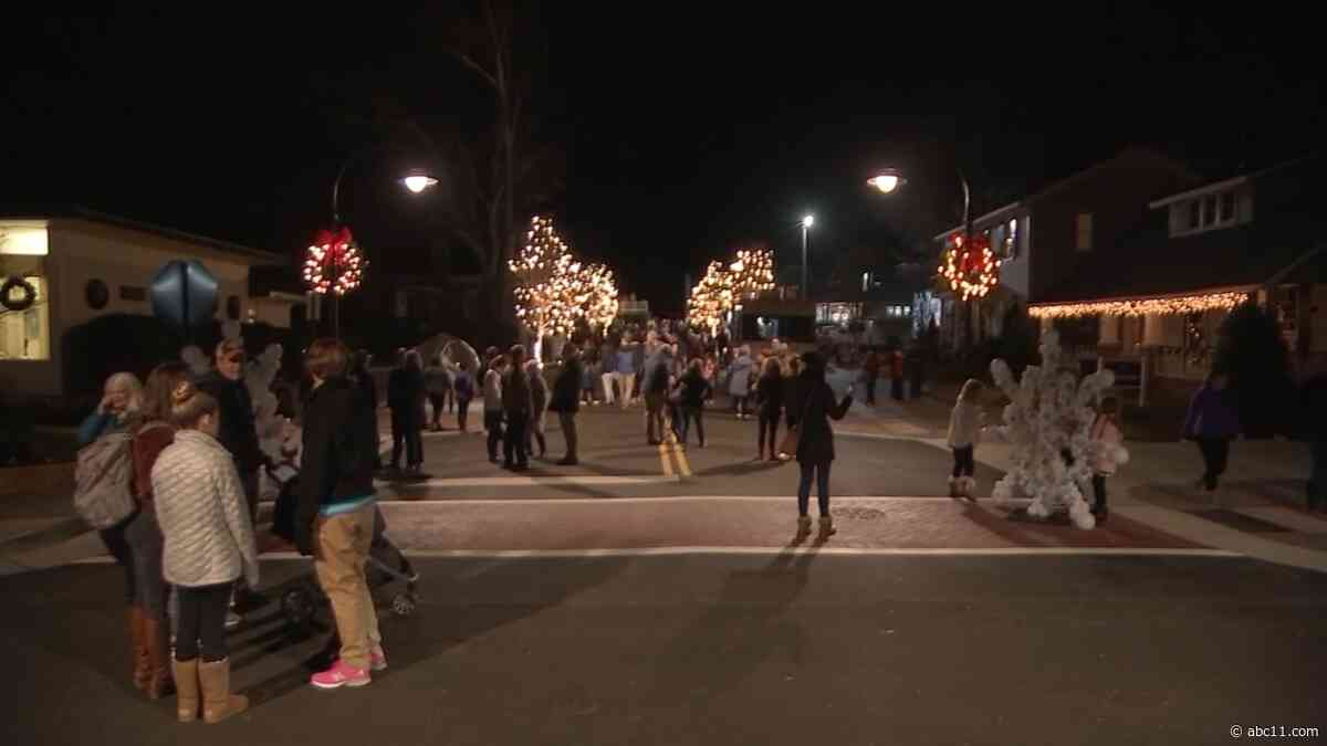 Grassroots efforts in place to assist businesses impacted by Wake Forest Christmas parade cancellation