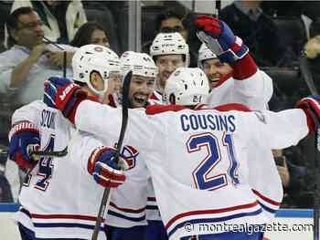 In the Habs' Room: Line juggle pays off for Julien with late winner against Rangers