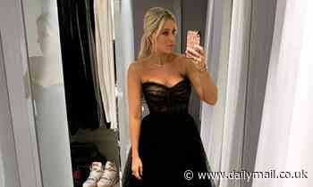 Roxy Jacenko stuns in plunging couture gown at heiress Francesca Packer-Barham's birthday dinner