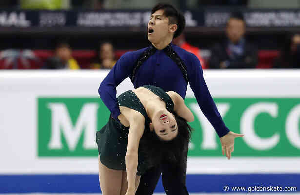 Olympic silver medalists Sui and Han take first Grand Prix title