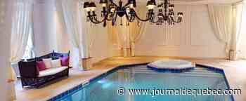Une piscine dans la maison!