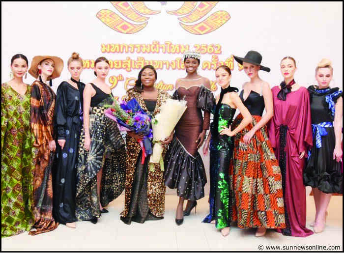 Designer Kiki Okewale makes history in Bangkok