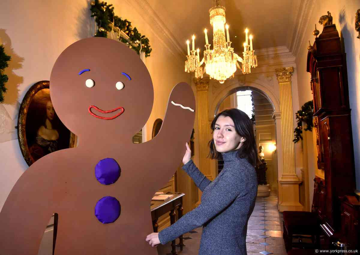 CHRISTMAS: Visit York's Gingerbread House at Mansion House