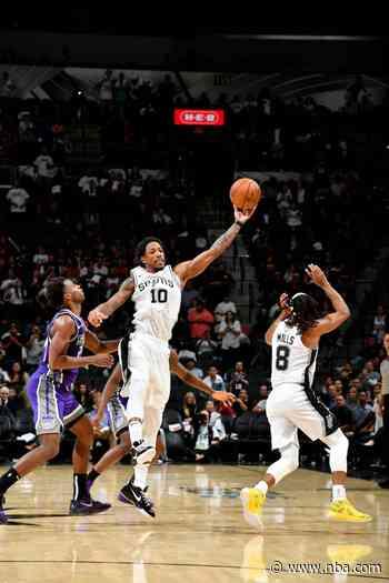 GAME RECAP: Spurs 105, Kings 104