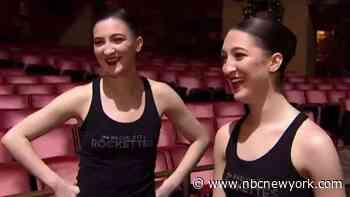 Twin Sisters Are Living Their Rockette Dreams