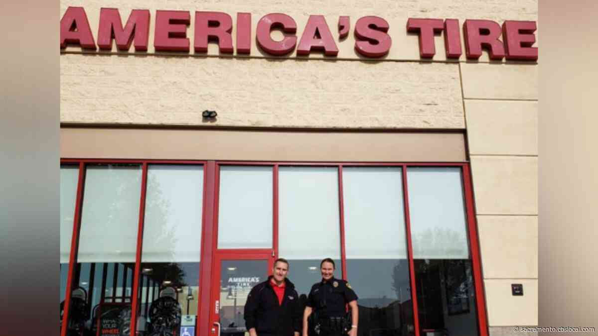 Manteca Teen Gifted New Tires Thanks To Efforts By School Resource Officer