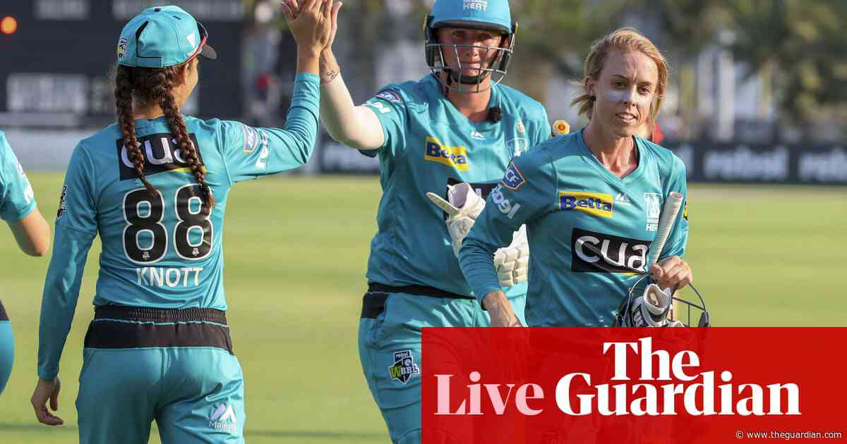 WBBL second semi-final: Heat too hot for Renegades - as it happened