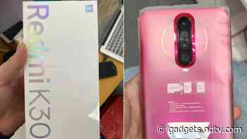 Redmi K30 Retail Package Leaked in Live Images; 3.5mm Headphone Jack, Dual-Frequency GPS Support Confirmed