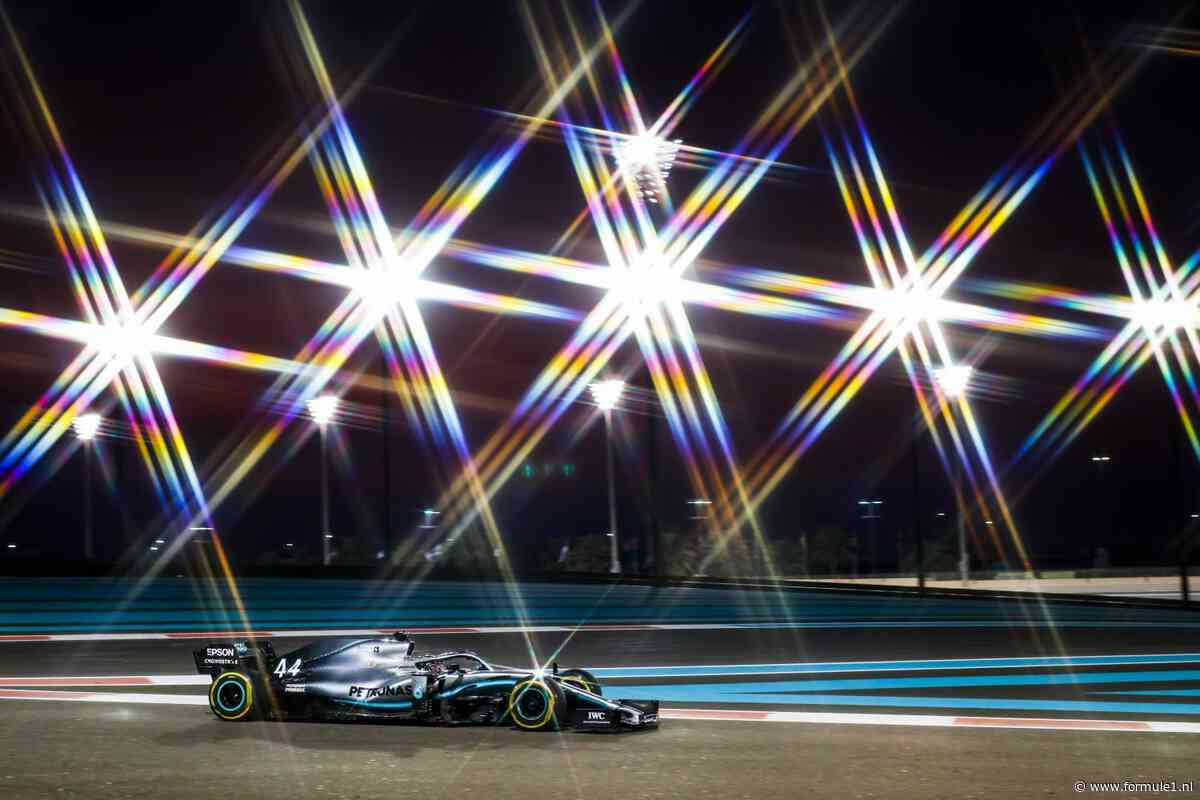 Door de lens van Peter: Een stralende Lewis Hamilton in Abu Dhabi
