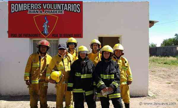 Los bomberos de Pradere siguen concretando objetivos