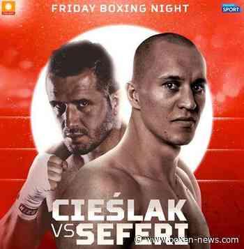 Nuri Seferi vs. Michal Cieslak am 20. Dezember in Polen