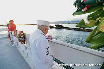 One of the few remaining battleship survivors attends Pearl Harbor service