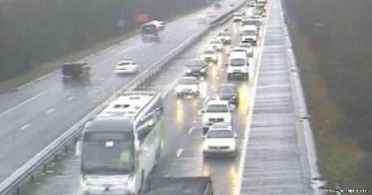 LIVE: M32 closed northbound - traffic updates