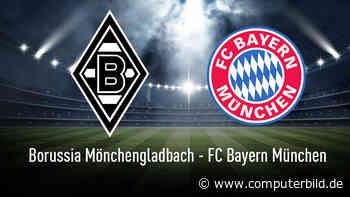 Bundesliga: Gladbach gegen Bayern München live sehen!