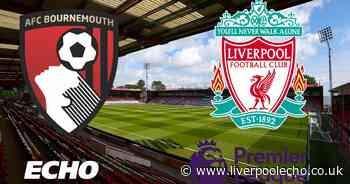 Bournemouth vs Liverpool LIVE - Early Premier League team news, kick-off time and commentary stream