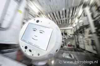 AI robotassistent CIMON-2 op weg naar het ISS