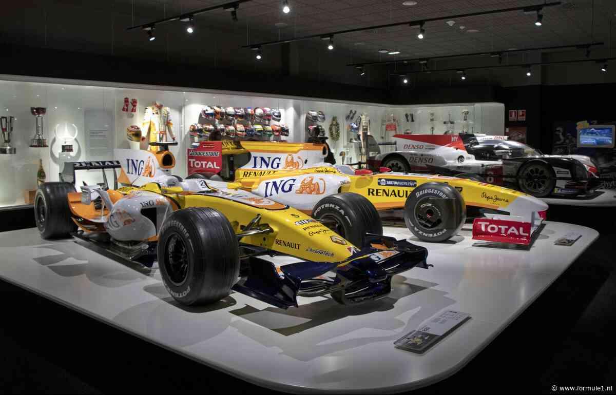 Een kijkje in de schatkamer van Fernando Alonso
