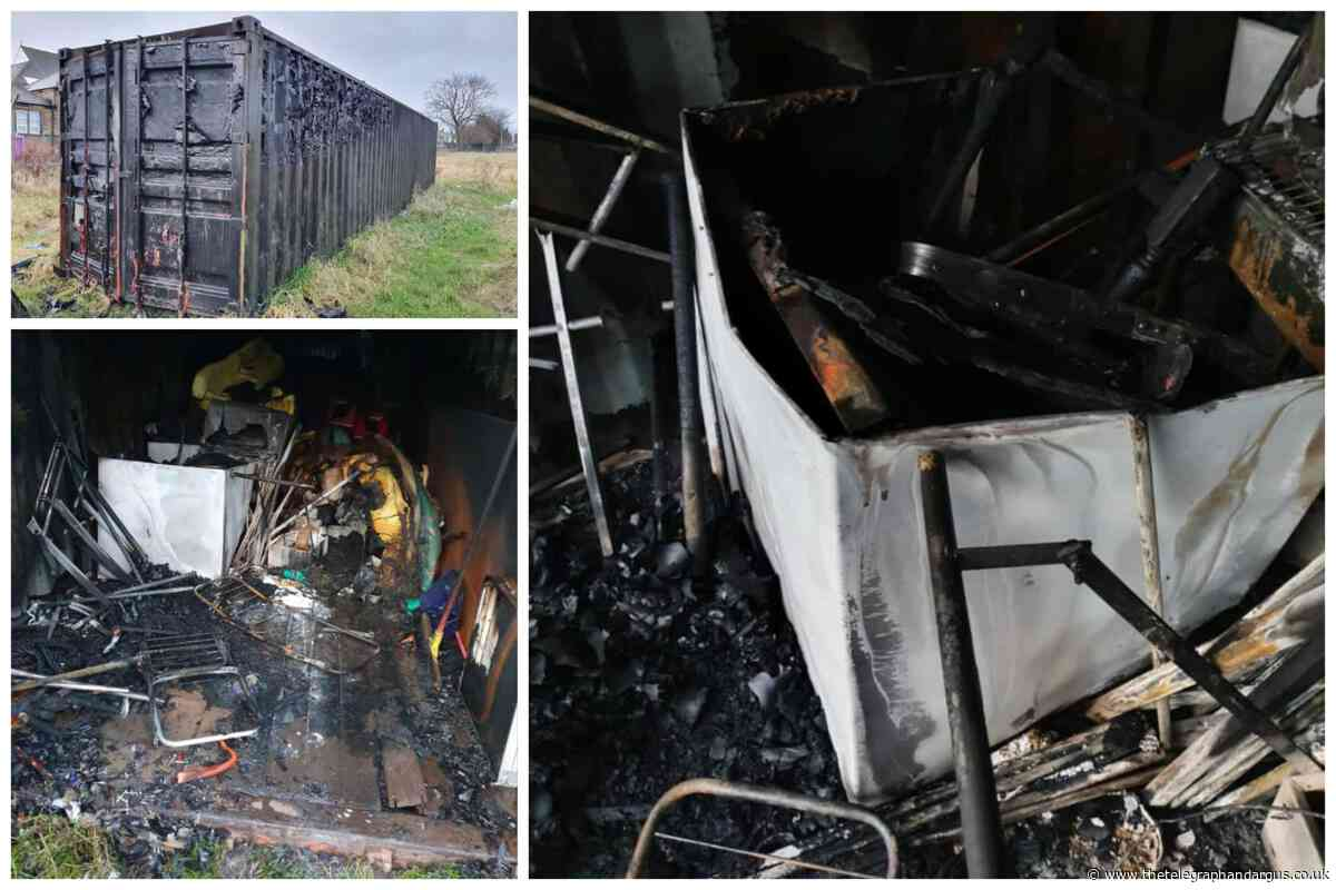 Wibsey RUFC falls victim to arson attack on storage container