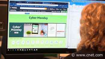 Cyber Monday's record sales day, Google co-founders step down video     - CNET
