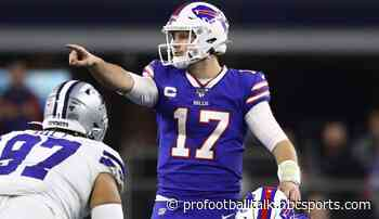Josh Allen: Sunday vs. Ravens is not a huge game
