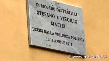 A 46 anni dal rogo di Primavalle una targa per i fratelli Stefano e Virgilio Mattei