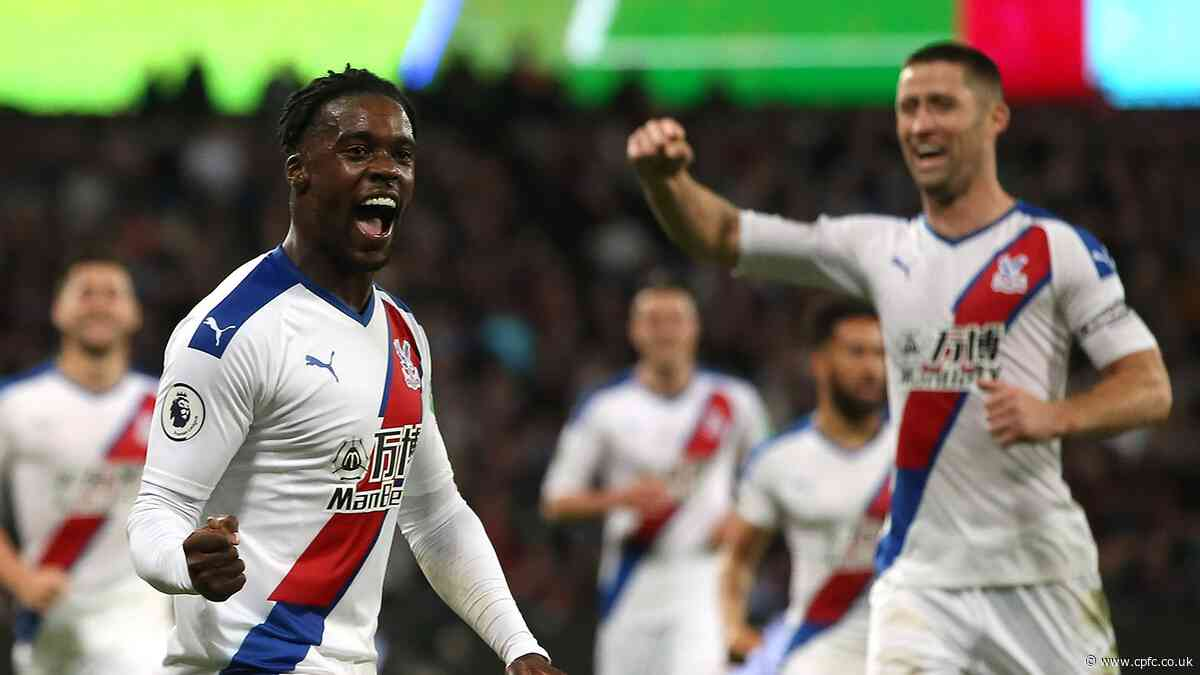 Two changes to Palace's XI from Bournemouth win