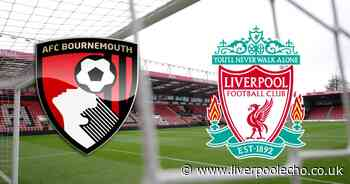 Bournemouth vs Liverpool LIVE - team news, line ups, kick-off time and commentary stream