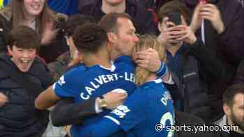 Calvert-Lewin restores Everton's two-goal edge