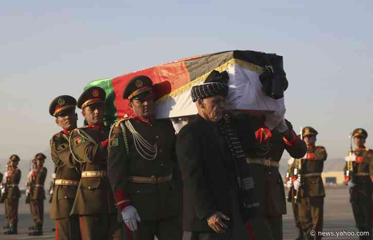 Afghanistan bids farewell to slain Japanese physician