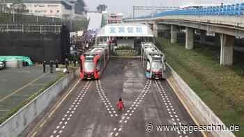 Autonome Straßenbahn: Schienenlos in Yibin