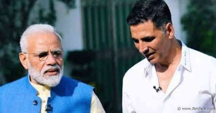 Akshay Kumar recalls his interview with Prime Minister Narendra Modi