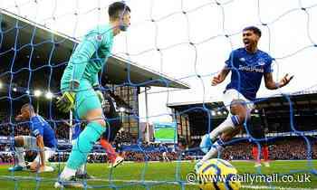 Everton 3-1 Chelsea: Dominic Calvert-Lewin double stuns Frank Lampard's men