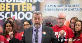 Ontario elementary teachers escalate job action, phase 2 of work-to-rule campaign starts Tuesday