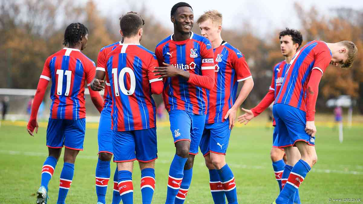 Palace U18s in emphatic 4-0 win over Coventry City