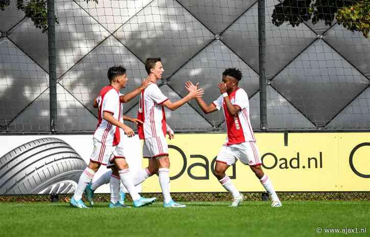 Jeugd: Ajax wint 3 mini-Klassiekers in Rotterdam