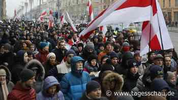 Belarus: Protest gegen zu große Nähe zu Russland