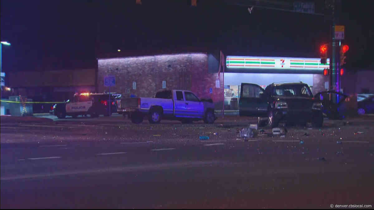Suspect Dead In Officer-Involved Shooting Near 92nd And Federal