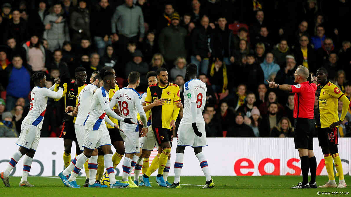 Three clean sheets in a week as Palace draw with Watford