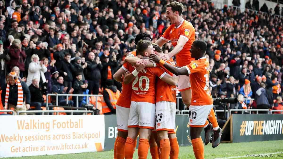 Report: Blackpool 3 Fleetwood Town 1