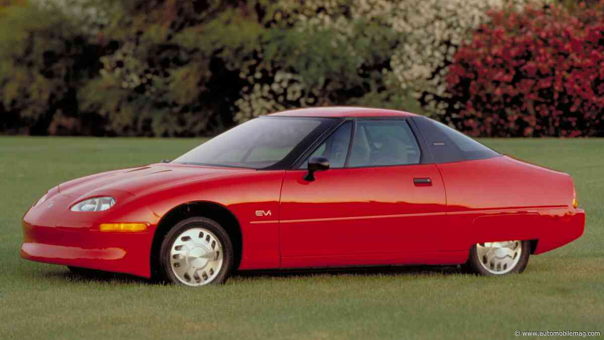 GM Supposedly Destroyed (Nearly) Every EV1 Ever Made—So Why Is One in an Atlanta Parking Garage?